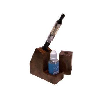 Vapor Stands Set - Walnut - Electronic Cigarette Holders