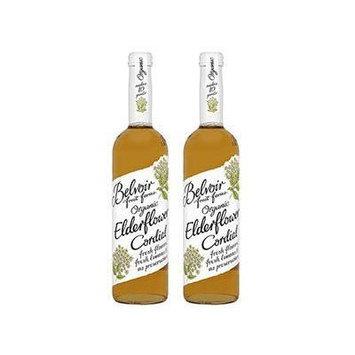 (2 Pack) - Belvoir - Organic Elderflower Cordial   500ml   2 PACK BUNDLE