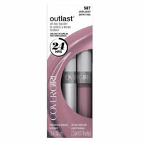 COVERGIRL Outlast All Day Two-Step Lipcolor Pink Pearl 587, 0.13 Oz by COVERGIRL