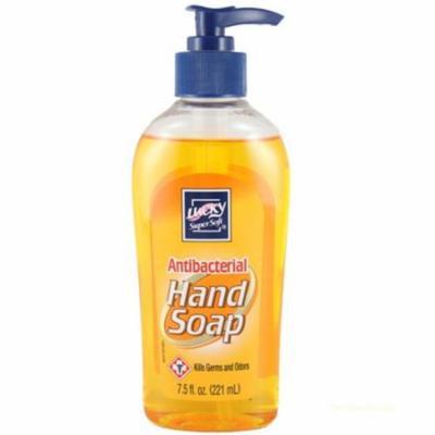 CPC BPUMP 8 oz Lucky Super Soft Antibacterial Hand Soap Pump, Case of 12