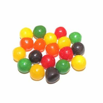 ASSORTED FRUIT SOURS CHEWY CANDY BALLS, 1LB