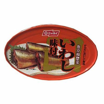 Nissui Canned Sardine in Sweet Soy Sauce 3.52 oz (3 Pack)