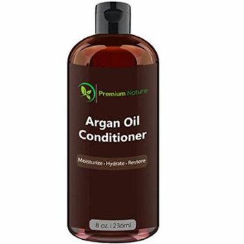 Argan Oil Deep Conditioner - 8 oz Volumizing & Moisturizing by Premium Nature