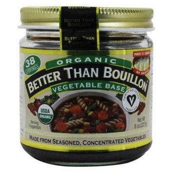 Better Than Bouillon Organic Vegetable Base, 8 oz(pack of 12)