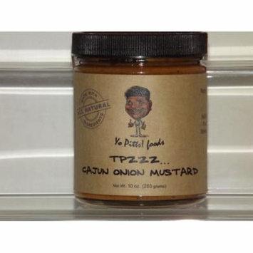Yo Pitts! Foods - TPzzz Cajun Onion Mustard, All Natural, 10 Oz