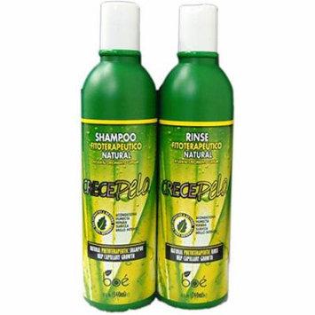 BOE Crece Pelo Shampoo 13.2 oz & Rinse 12 oz