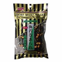 Nori Maki Arare Rice Crackers with Seaweed Wasabi Flavor 3 oz per Pack (1 Pack)