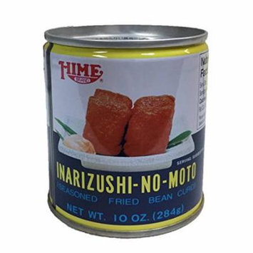 Hime Inarizushi-No-Moto Seasoned Fried Bean Curd Canned 10 oz (2 Can)