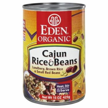 Eden Foods - Organic Cajun Rice and Beans - 15 oz(pack of 6)