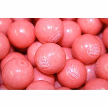 BAYSIDE CANDY GUMBALLS STRAWBERRY BANANA BUBBLE GUM 25mm or 1 inch, 1LB