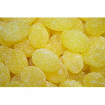 BAYSIDE CANDY SANDED LEMON DROPS HARD CANDY, 2LBS