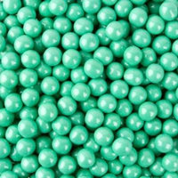 BAYSIDE CANDY SIXLETS TURQUOISE , 2LBS