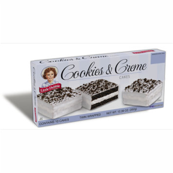 Little Debbie Cookies and Creme Cakes 10 count