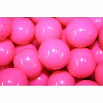 GUMBALLS PINK 25mm or 1 inch (285 count), 5LBS