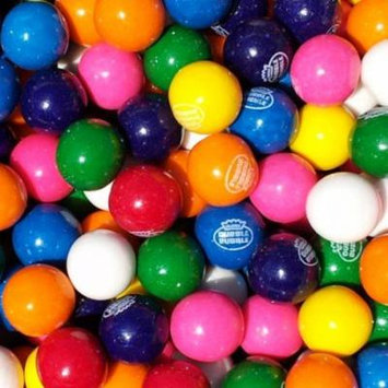 BAYSIDE CANDY GUMBALLS ASSORTED 25mm or 1 inch , 1LB