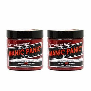 Manic Panic Semi-Permanent Hair Color Cream - Wildfire 4oz