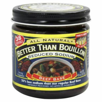 Better Than Bouillon - Beef Base Reduced Sodium - 8 oz (pack of 4)