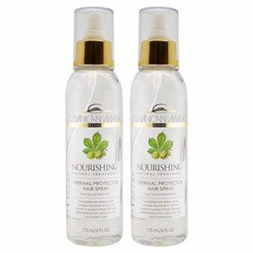 Dominican Nourishing Magic Thermal Protector Hair Spray 6oz