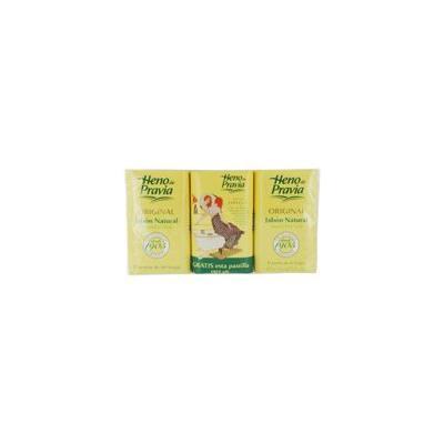 HENO DE PRAVIA - SET OF 2 SOAPS PLUS 1 FREE AND EACH IS 4 OZ