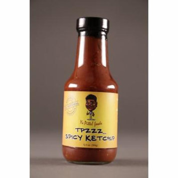 Yo Pitts! Foods, ALL-Natural, TPzzz Spicy Ketchup 12.5 oz.
