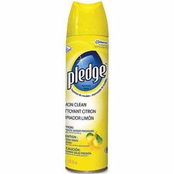 CPC Pledge Pledge Lemon Clean Furniture Spray, 13.8 oz - Case of 6