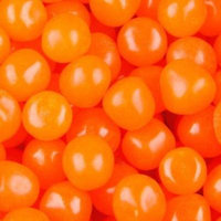 BAYSIDE CANDY ORANGE FRUIT SOURS CHEWY CANDY BALLS, 5LBS