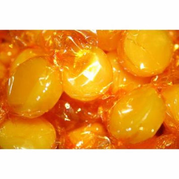 BUTTERSCOTCH DISCS HARD CANDY WRAPPED, 2LBS