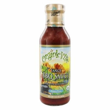 Organicville - Organic BBQ Sauce Tangy - 13.5 oz.(pack of 1)