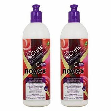 Novex My Curls Memorizer Leave in Conditioner - Intense 500g / 17.6oz