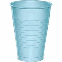 Hoffmaster Group 28157071 12 oz Plastic Cups, Pastel Blue - 20 per Case - Case of 12