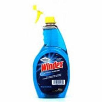 CPC WINDEX 32 oz Windex Glass & Window Cleaner Spray with Ammonia, Case of 12