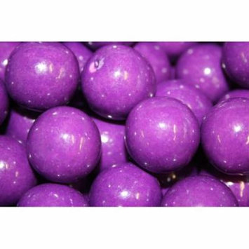 BAYSIDE CANDY GUMBALLS GRAPE BUBBLE GUM 25mm or 1 inch , 5LBS