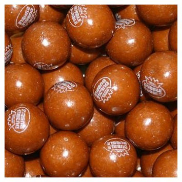BAYSIDE CANDY GUMBALLS ROOT BEER BUBBLE GUM 25mm or 1 inch , 2LBS