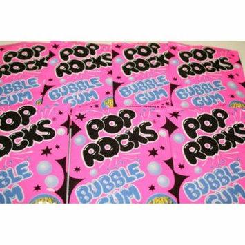 BAYSIDE CANDY POP ROCKS BUBBLE GUM, PACK OF 12 POP ROCKS
