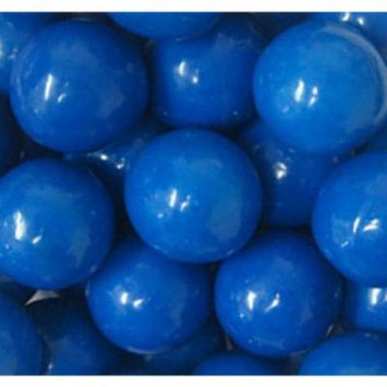BAYSIDE CANDY GUMBALLS BLUE 25mm or 1 inch , 2LBS