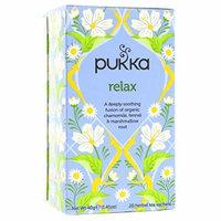 (4 PACK) - Pukka Relax Tea| 20 Bags |4 PACK - SUPER SAVER - SAVE MONEY