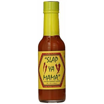 Slap Ya Mama 3 Piece Cajun Pepper Sauce, 5 Ounce