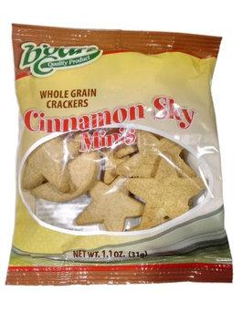 B'gan Natural Whole Grain Cinnamon Sky Cookies 100 Snack Bags (Pack of 100)