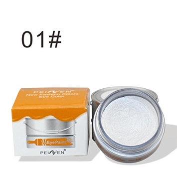 Women Metallic Eyeshadow, Vmree Matte Eye Shadow Cream Palette Shimmer Highlighter Youth Activating Eye Makeup Girls Necessary Cosmetics