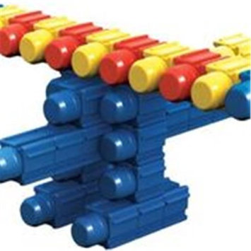 SNAPO 32A022BL 35 Piece Junior Island Holiday Building Blocks Blue & Red - Yellow