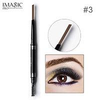 1PCS IMAGIC Brand Makeup Eyebrow Automatic Pro Waterproof Pencil Makeup 5 Style Paint Eyebrow Pencil Cosmetics Brow Eye Liner Tools (CARAMEL)