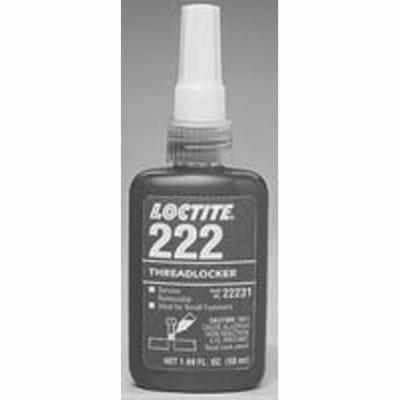 LOCTITE 22231 ADHESIVE, ACRYLIC, BOTTLE, 50ML