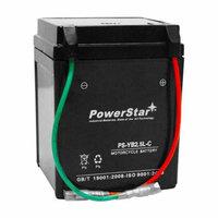 PowerStar® Replacement Yuasa YUAM22LC1 YB2.5L-C-1 Battery-2YR Warranty