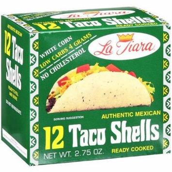 La Tiara White Corn Taco Shells, 2.75 oz