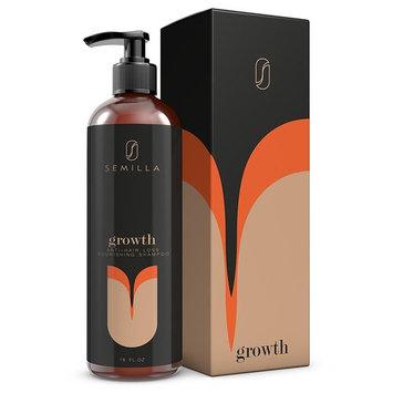 DHT Blocker Shampoo - Keratin and Follicle Treatment with Biotin & Caffeine – Natural Anti-Hair Loss Organic Oils for Healthier, Stronger, Thicker Hair – Men and Women