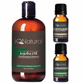 Jojoba 4oz Essential Oil Set