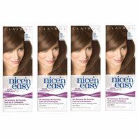 Clairol Nice N' Easy Hair Color #76, Light Golden Brown (Pack of 4) Uk Loving Care + LA Cross Tweezers 71817