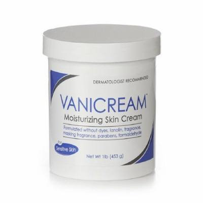 Vanicream Moisturizing Skin Cream 1 Lb (2 Pack)