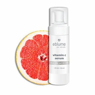 Bronson Eblume Vitamin C Serum Anti-Aging Intensive Skin Care, Softens, Hydrates & Repairs, Made in USA, 1 oz