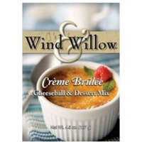 Wind & Willow Sweet Cheeseball and Dessert Mix - 3.5 Oz. (2-pack) (Creme Brulee)